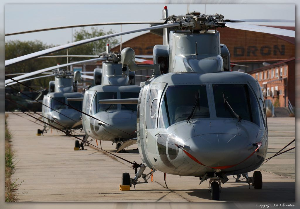 Sikorsky S-76C del Ejercito del Aire.