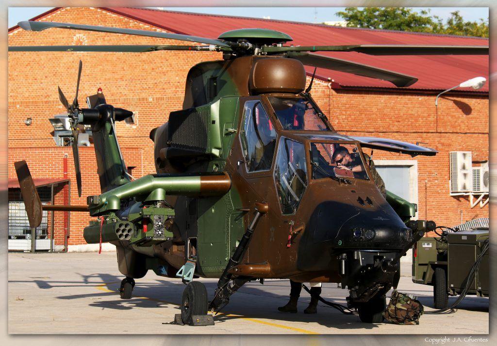 Eurocopter EC-665 Tigre.