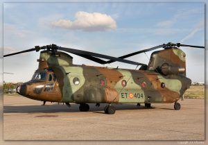 Boeing CH-47 Chinook.