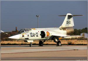 C.8-12 (cn 6092) Lockheed F-104G Starfighter.