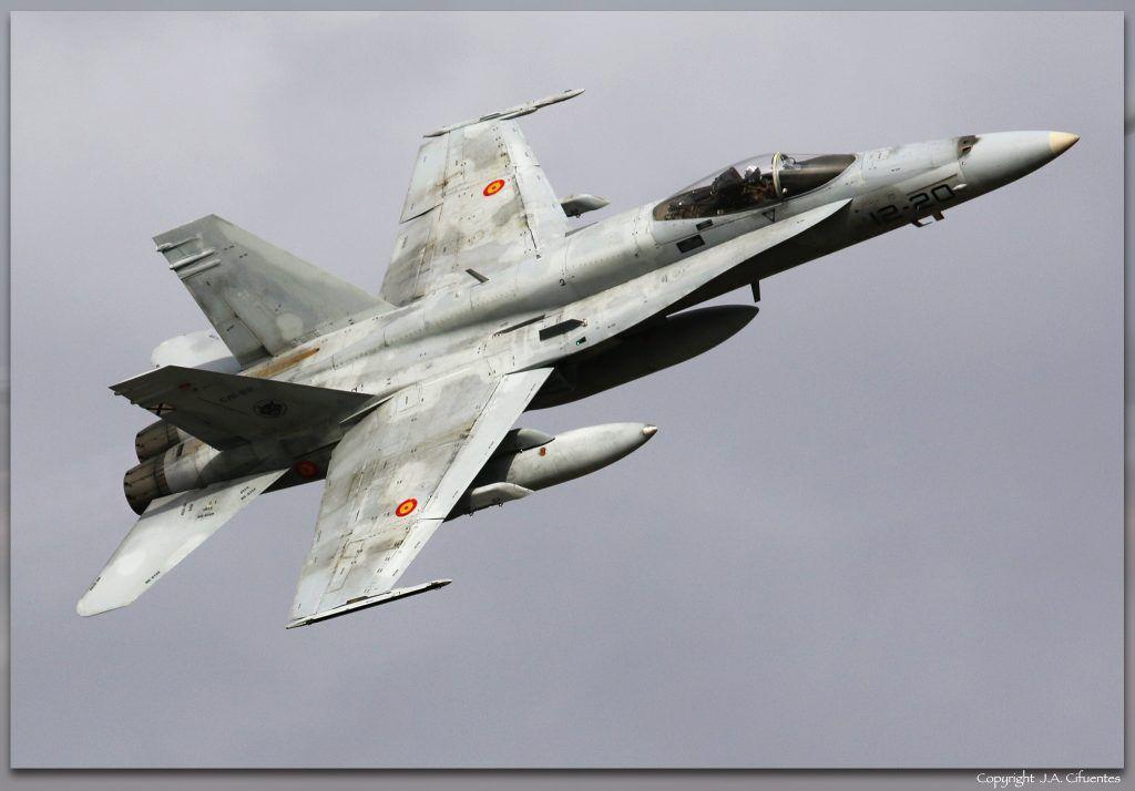 C.15-62 / 12-20 McDonnell Douglas EF-18A+.
