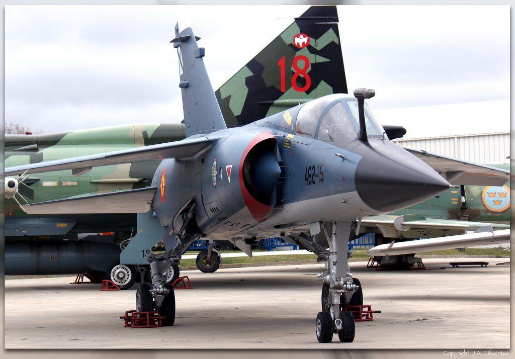 Dassault Mirage F-1EE.