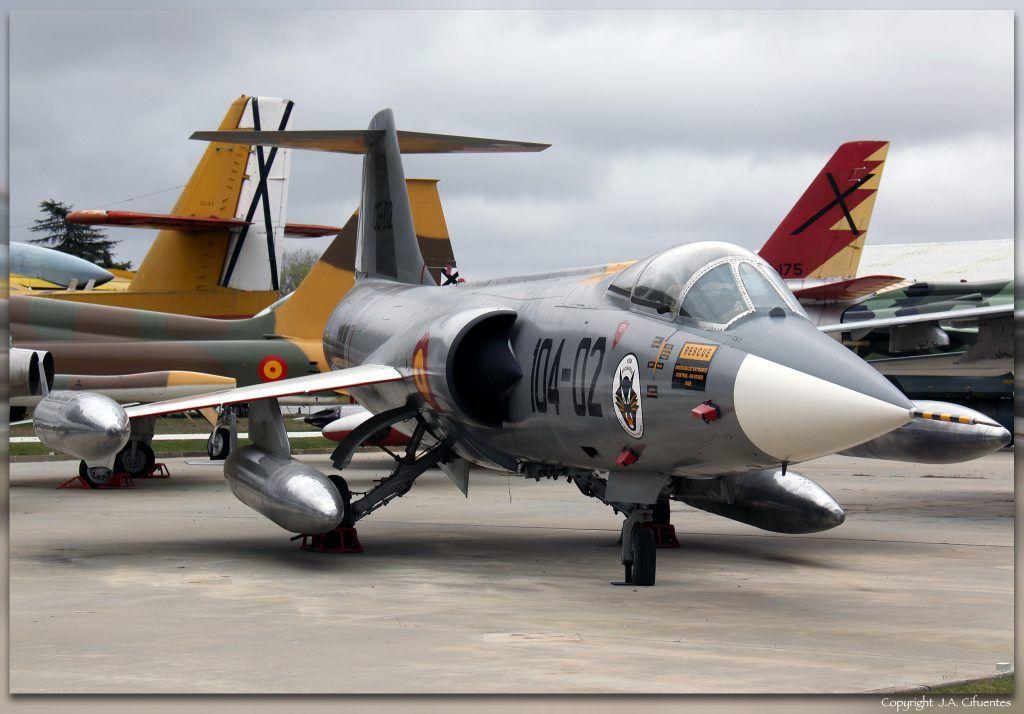 Lockheed F-104G Starfighter.