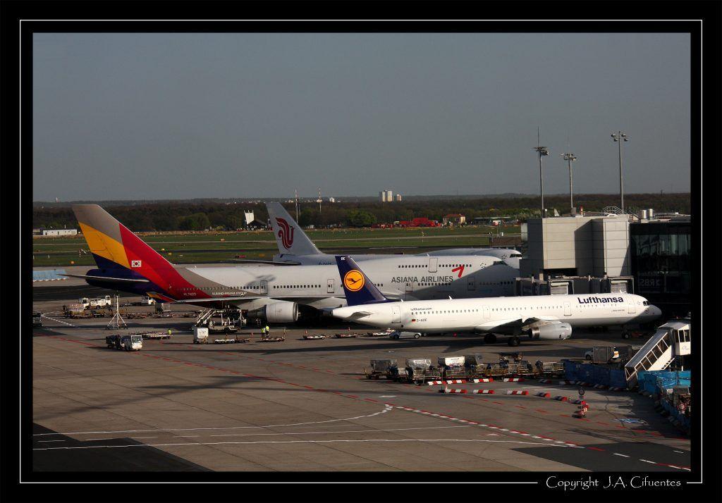 Aeropuerto de Frankfurt.