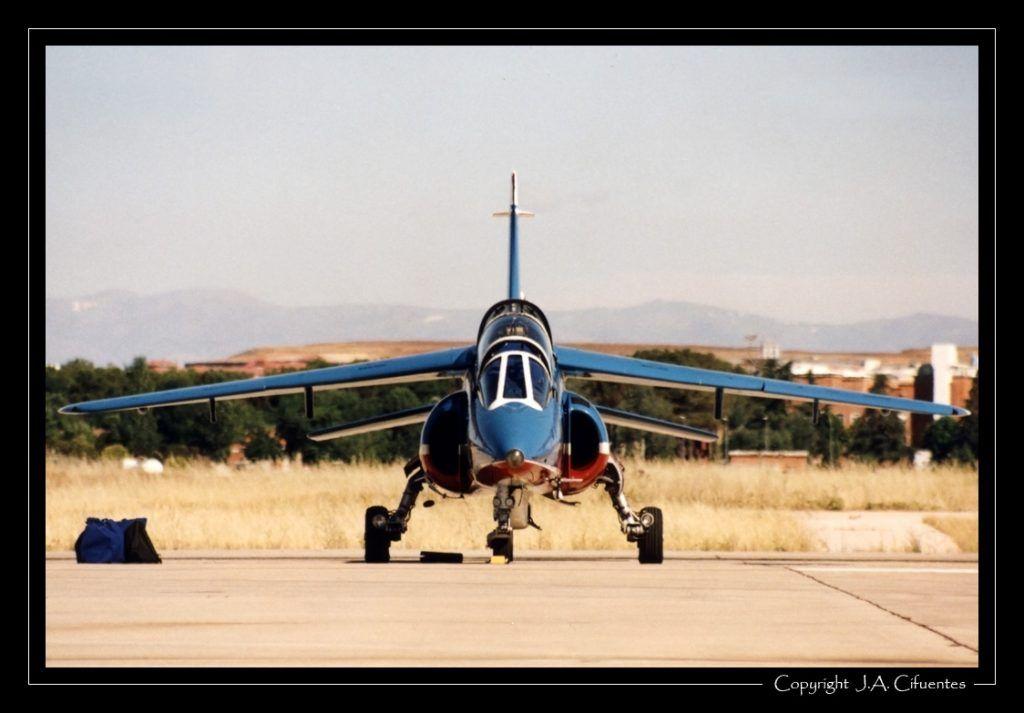 Dassault/Dornier Alpha Jet de la Patrouille de France.