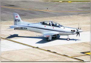 Segundo prototipo del Pilatus PC-21 (HB-HZB).