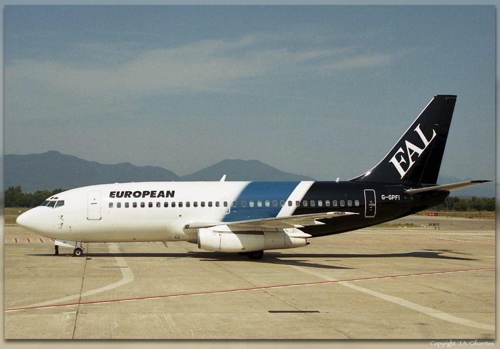 Boeing 737-229 (G-GPFI) de European Aircharter.