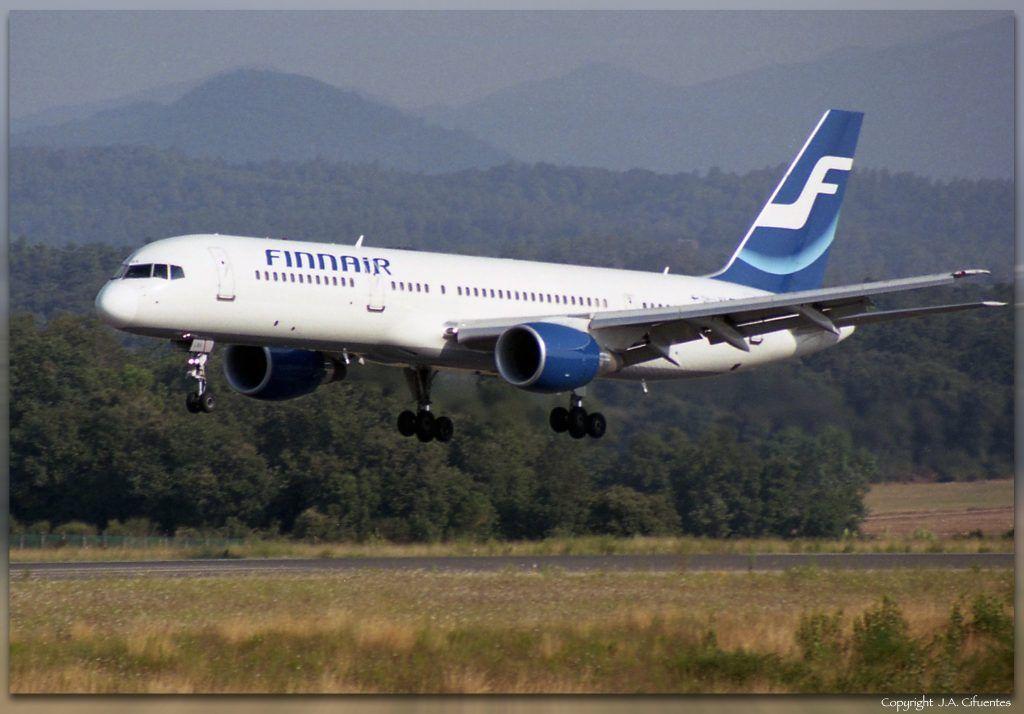 Boeing 757-200 (OH-LBX) de Finnair.