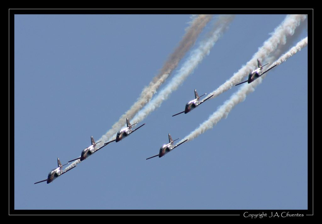 CASA C-101 Aviojet de la Patrulla Águila.
