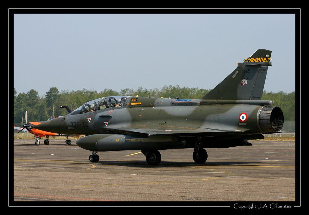 Dassault Mirage 2000D de l'Armée de l'Air.