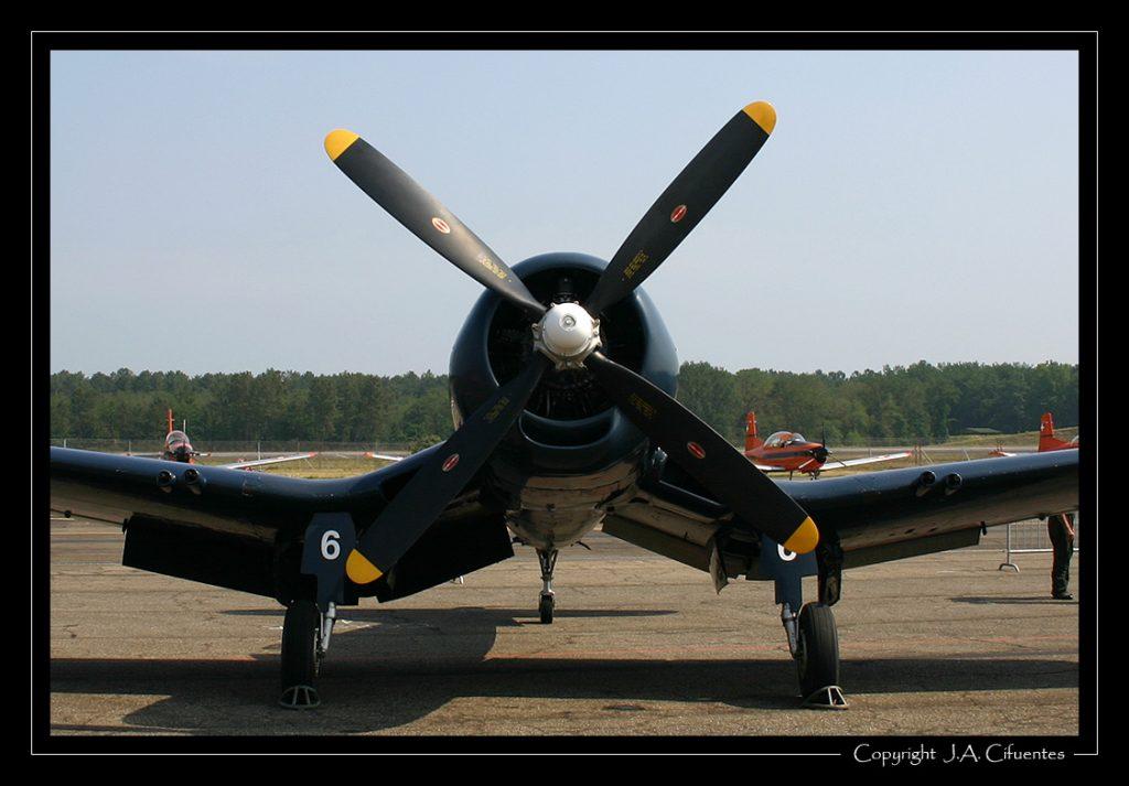 F4U-7 Corsair F-AZYS / 14.F-6 - Aéronavale.