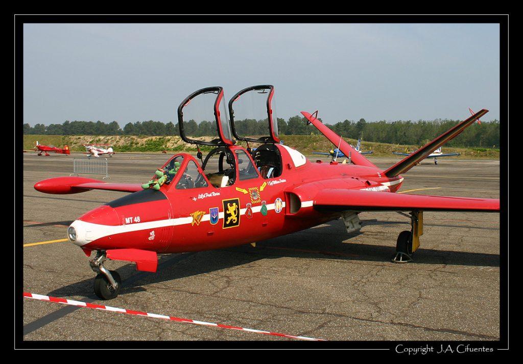Fouga CM.170 Magister belga.