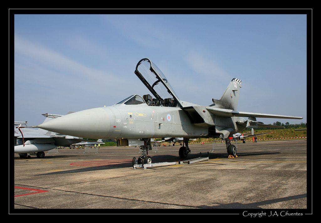 Tornado F.3 de la Royal Air Force.