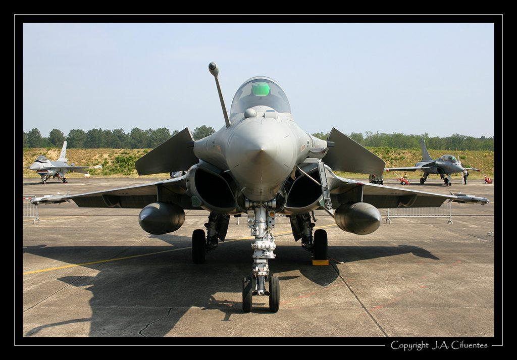 Dassault Rafale M de la Aéronavale.