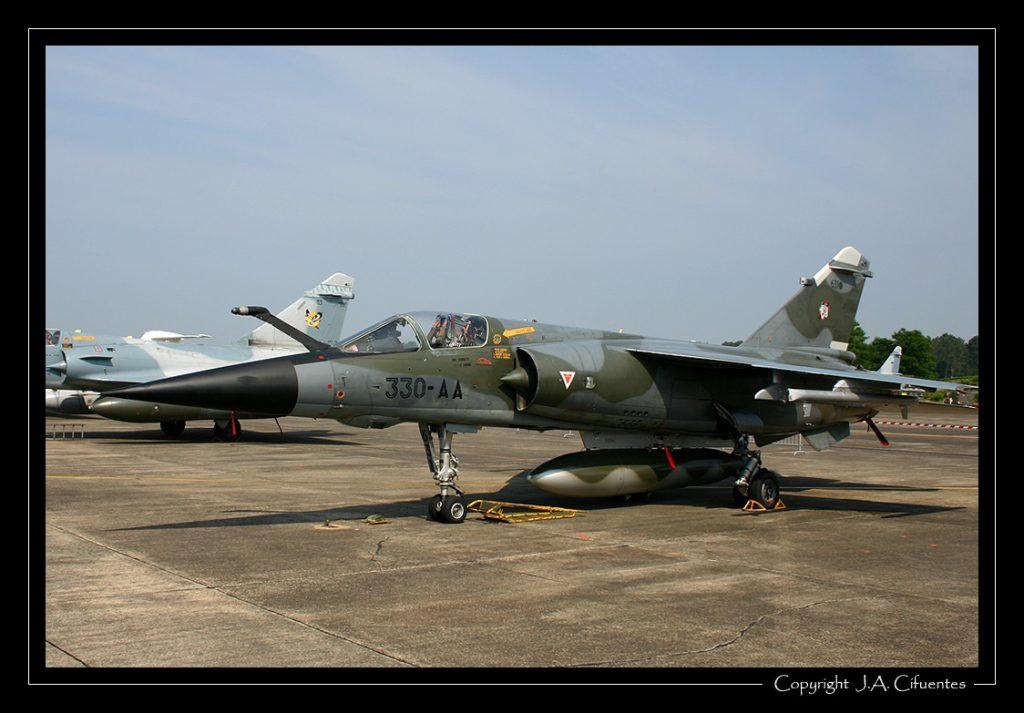 Dassault Mirage F1CR de l'Armée de l'Air.