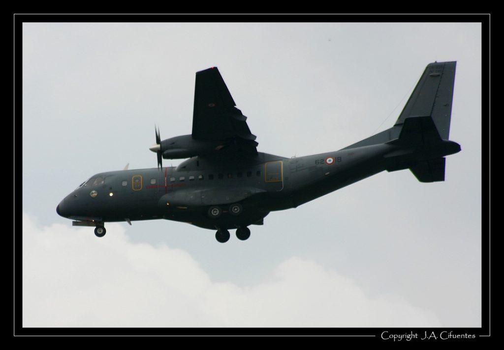 CASA CN.235-100M de l'Armée de l'Air.