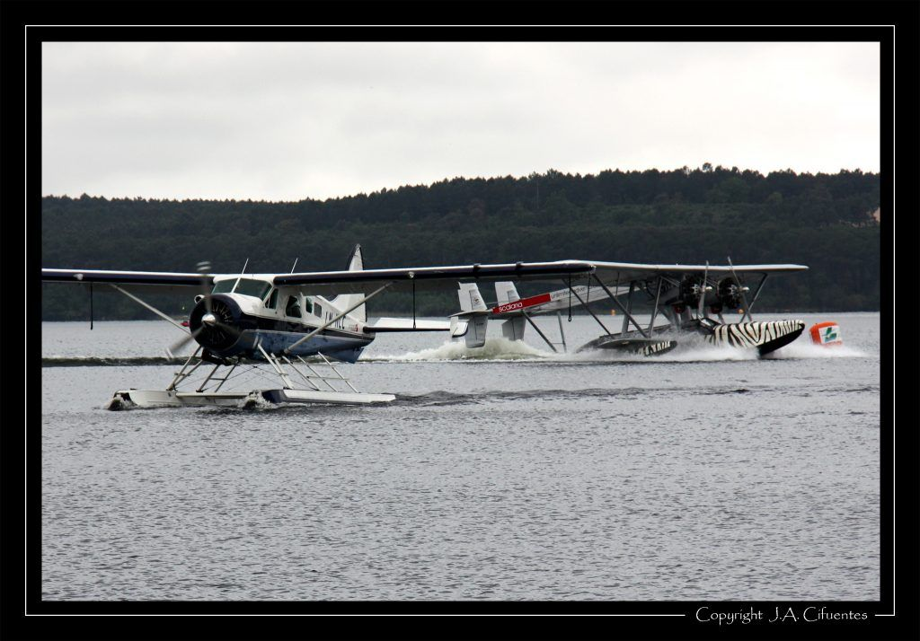 "De Havilland DHC-2 ""Beaver"" y Sikorsky S-38."