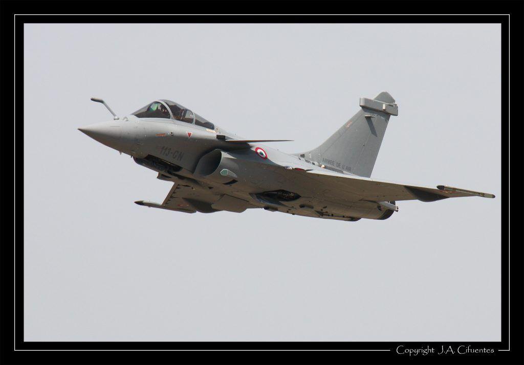 Dassault Rafale de l'Armée de l'Air.