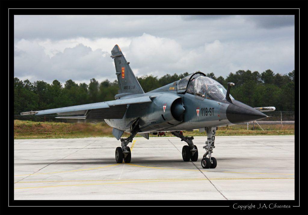Dassault Mirage F-1B de l'Armée de l'Air.