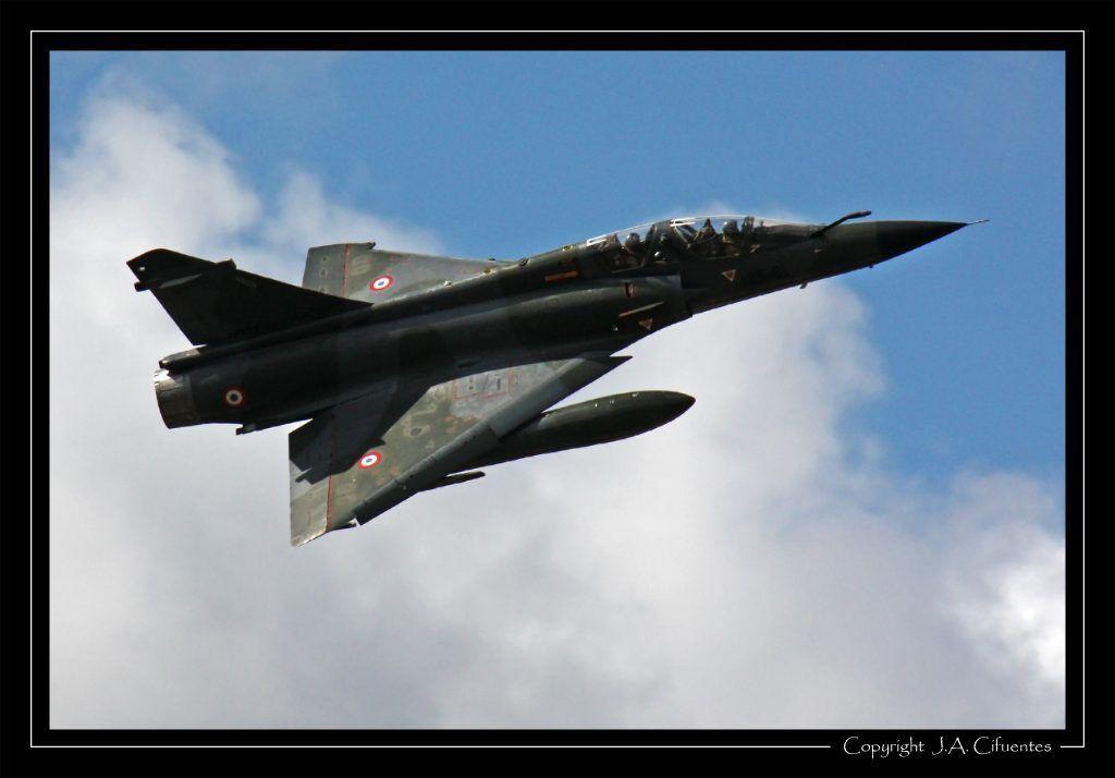 Mirage 2000 D de l'Armée de l'Air.