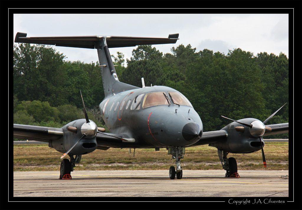 Embraer EMB-121 Xingu de l'Armée de l'Air.
