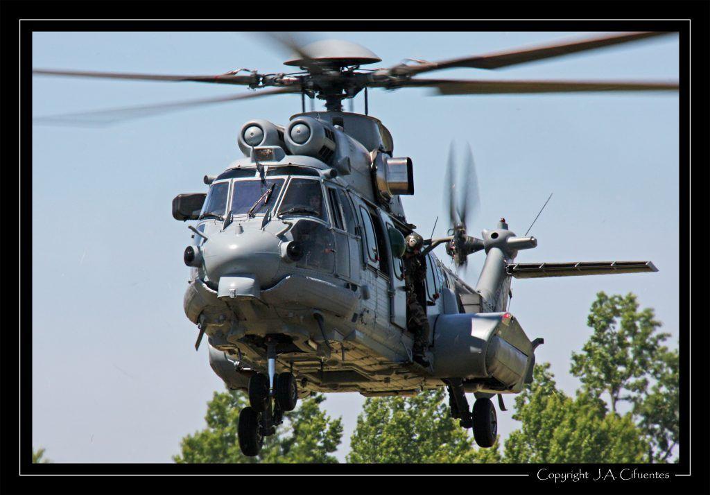 Eurocopter EC 725 Caracal de l'ALAT.