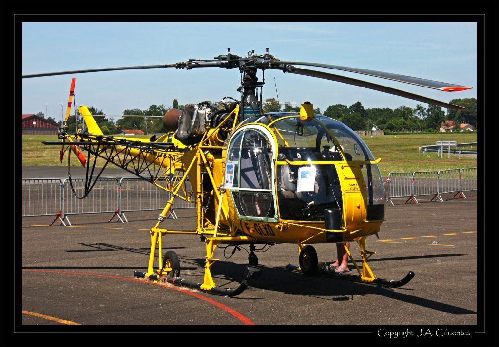 Aerospatiale SA 315B Lama (F-GLXD).