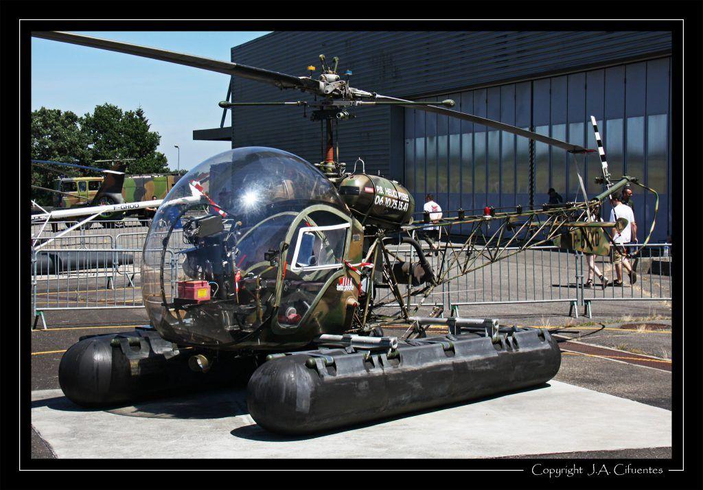 Bell 47G-2 s/n 1458 (F-BVXD).