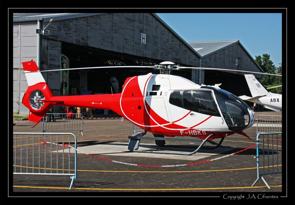 Eurocopter EC-120B Colibri Helidax (F-HBKS).