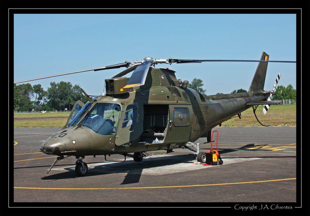 Agusta A109A109BA del Componente Aéreo Belga.
