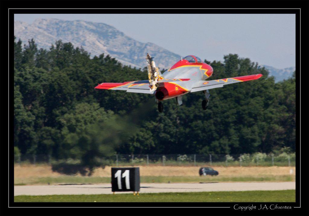 """CASA C-101 """"Patrulla Aguila"""" - Ejercito del Aire."""