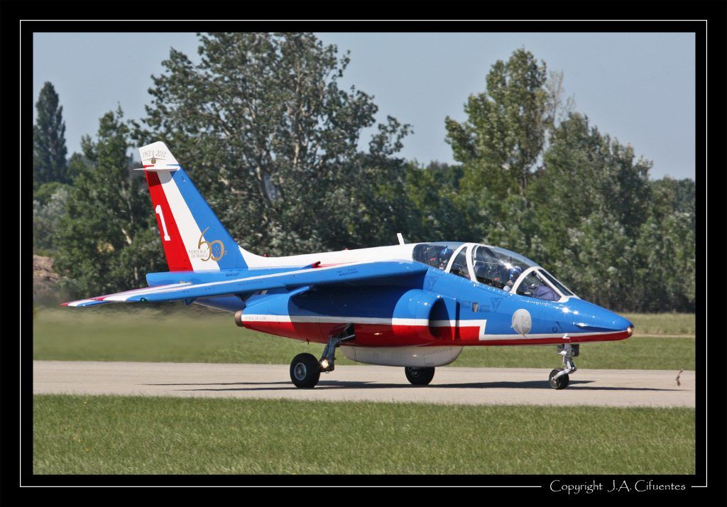"""Dassault-Breguet/Dornier Alpha Jet """"Patrouille de France"""" - Armée de l'Air."""