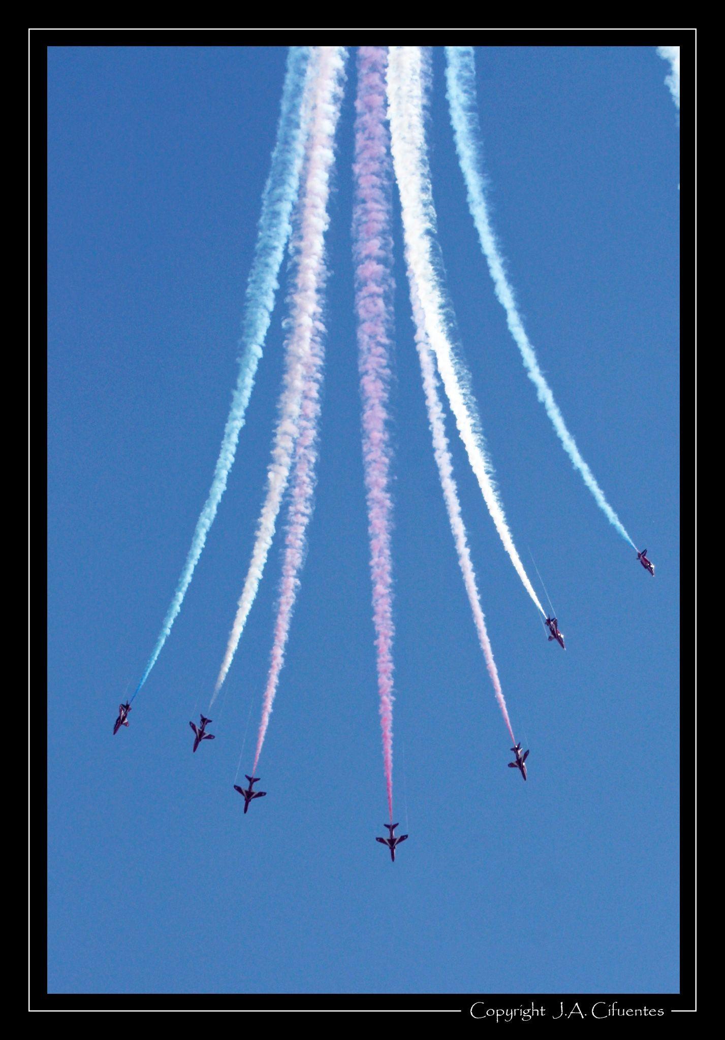 "British Aerospace Hawk ""Red Arrows"" - Royal Air Force."