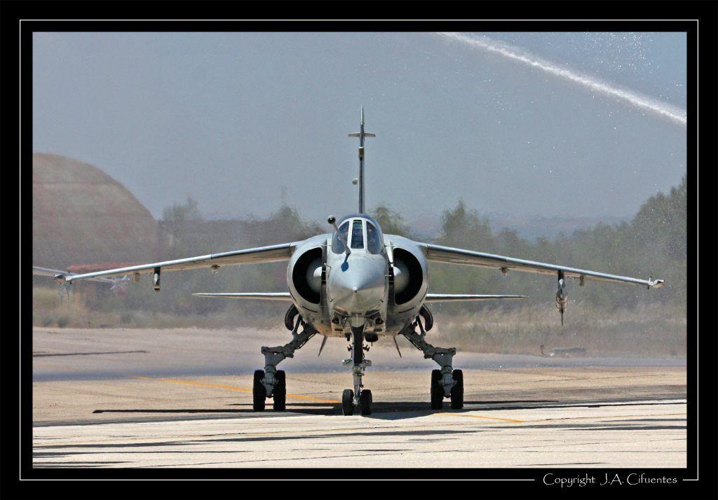 Dassault Mirage F-1 del Ala 14 del Ejercito del Aire.