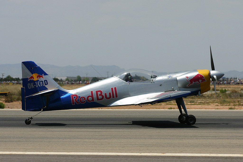 Zlin 50LX - The Flying Bulls Aerobatics Team.