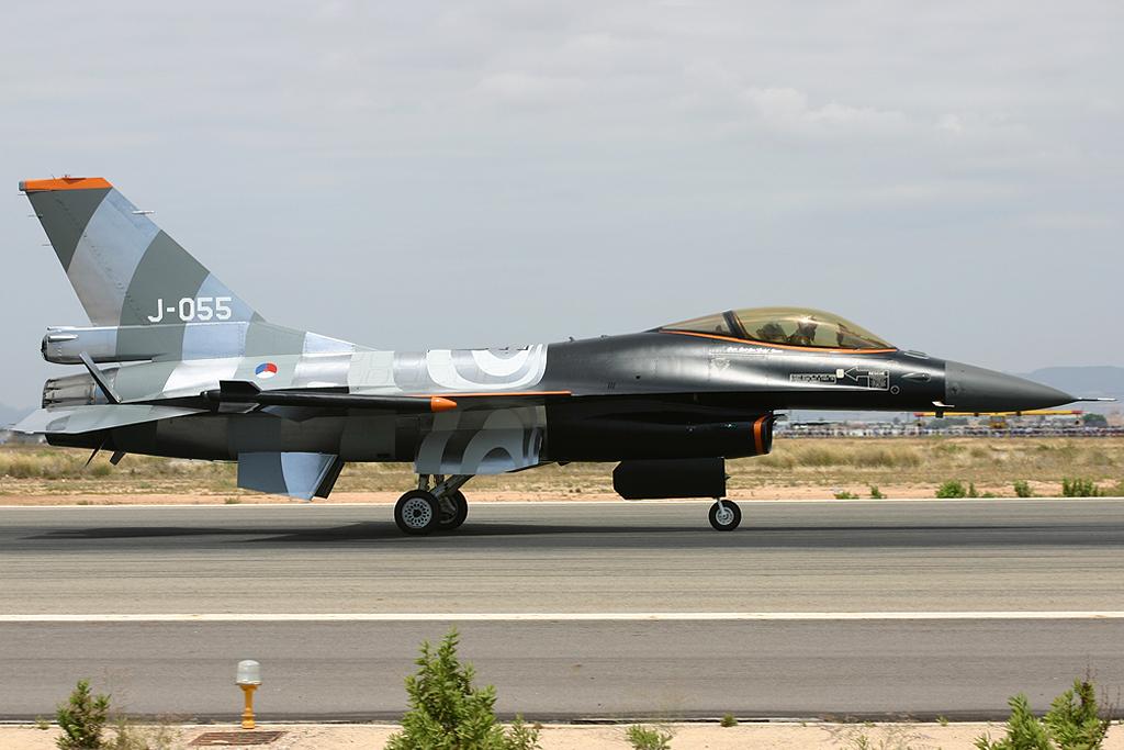 Lockheed Martin F-16 AM de la Fuerza Aérea Portuguesa.