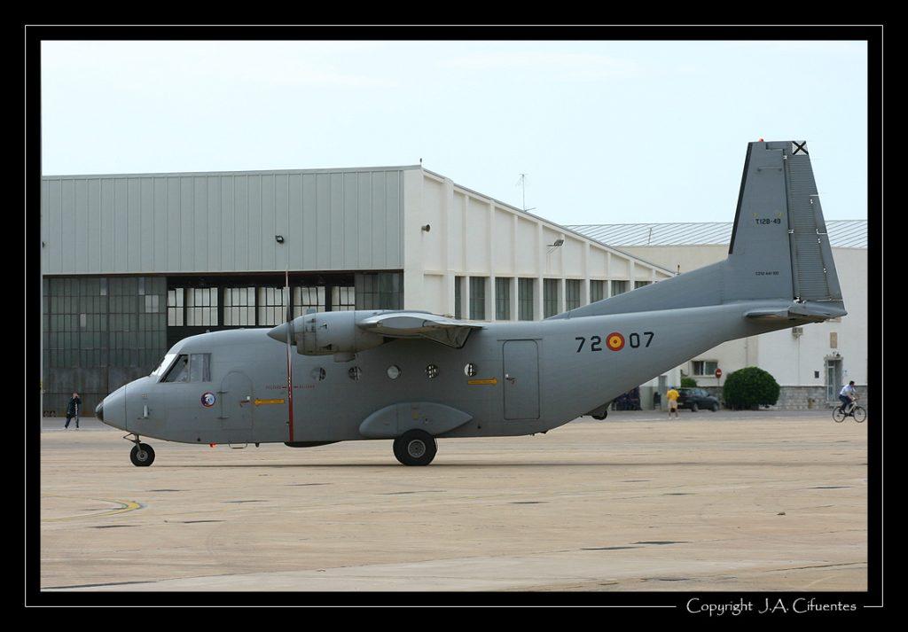 CASA C-212 Aviocar del Ejercito del Aire.