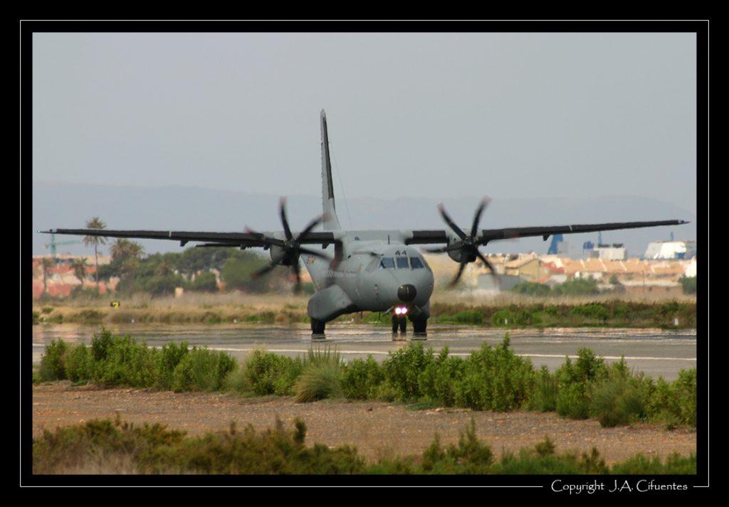 CASA C-295 del Ejercito del Aire.