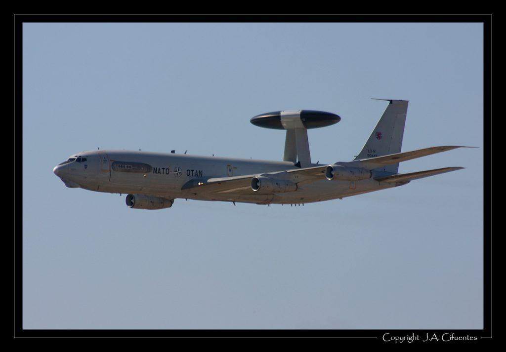 Boeing E-3A Sentry de la OTAN.