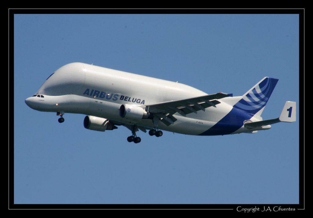 Airbus A300B4-608ST Super Transporter Beluga.