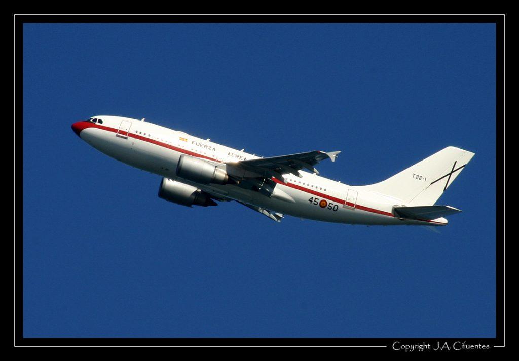 Airbus A310-304 del Ejercito del Aire.