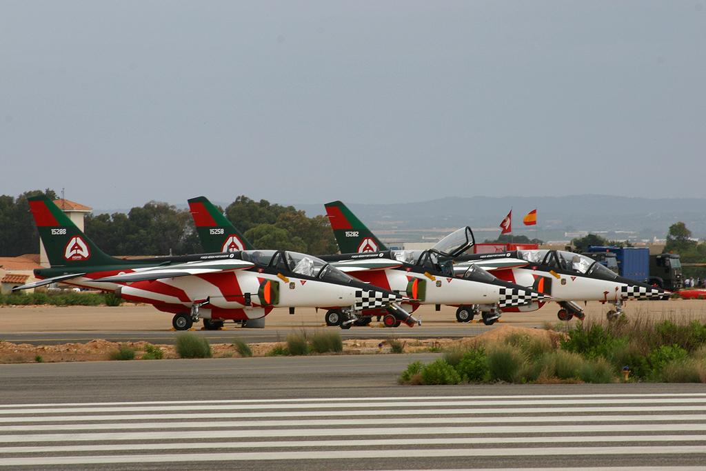 """Dassault/Dornier Alpha-Jet de """"Asas de Portugal"""" de la Fuerza Aérea Portuguesa."""