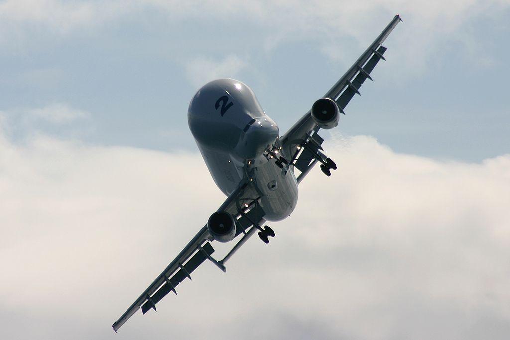 "Airbus A300B4-608ST Super Transporter ""Beluga""."