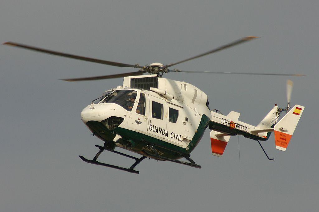 Bölkow BK-117 de la Guardia Civil.