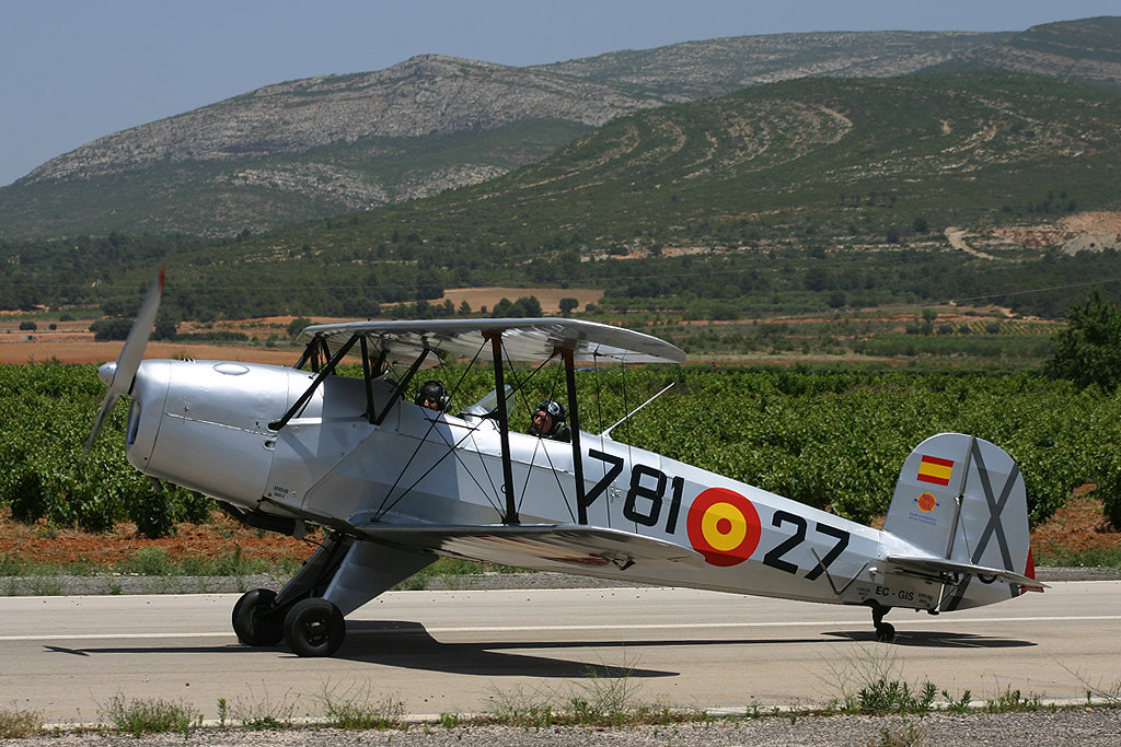 CASA (Bücker) C1.131 Jungmann de la Fundación Aérea de la Comunidad Valenciana.
