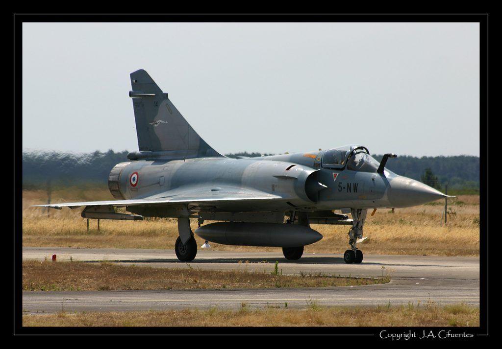 Dassault Mirage 2000C de l'Armée de l'Air.