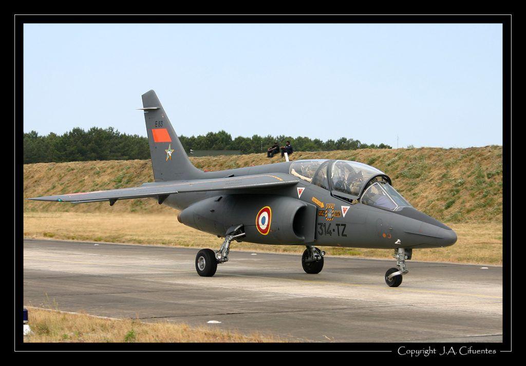 Dassault-Dornier Alpha Jet E de l'Armée de l'Air.