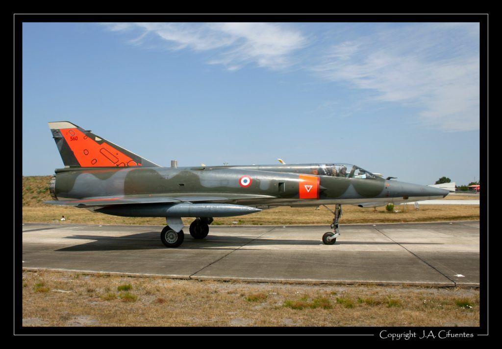Dassault Mirage III E asignado al Centre d'Essais en Vol (CEV).