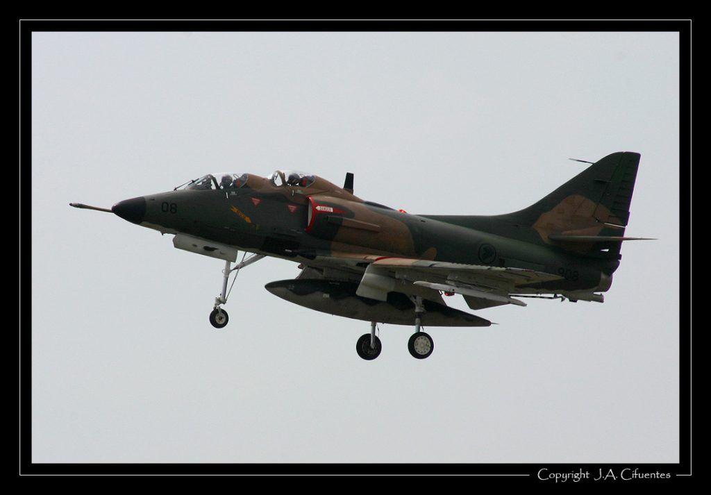 McDonnell Douglas A-4SU Super Skyhawk de Singapur.