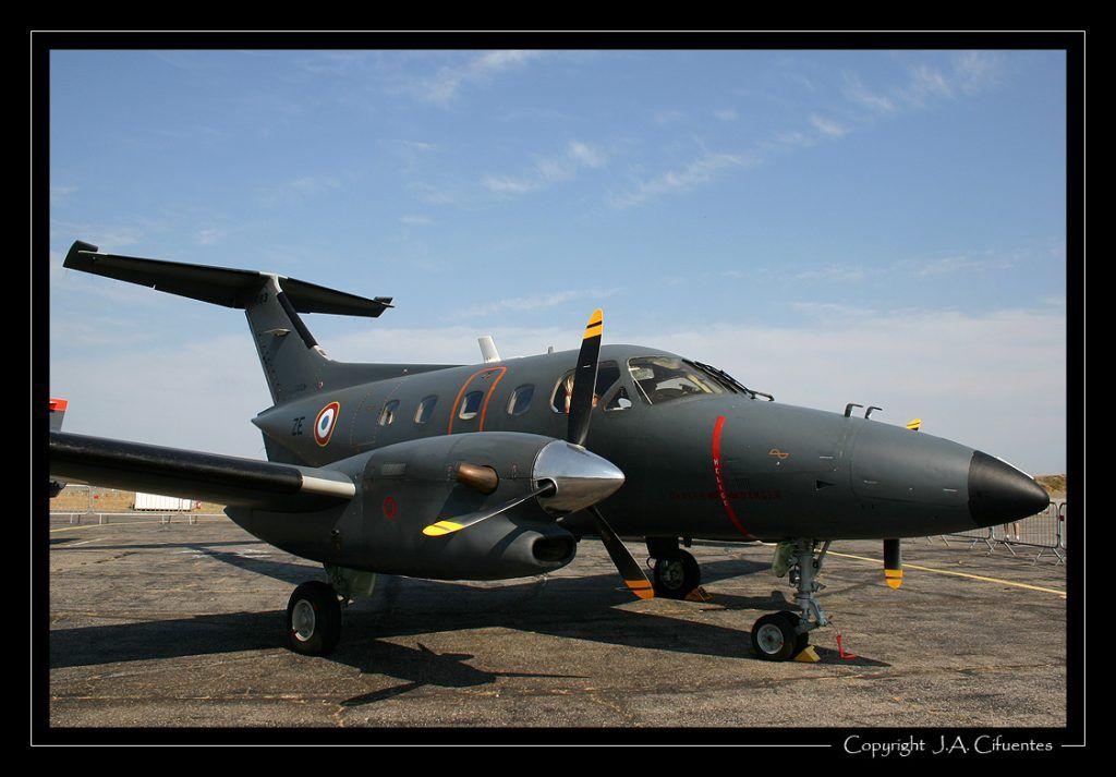 Embraer EMB 121 Xingu de l'Armée de l'Air.